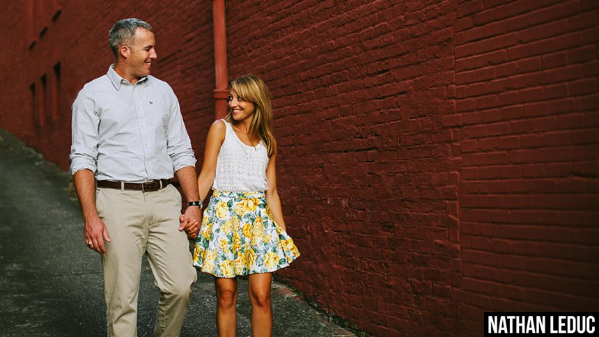 Couples Photography on Columbus Riverwalk | Seti & James